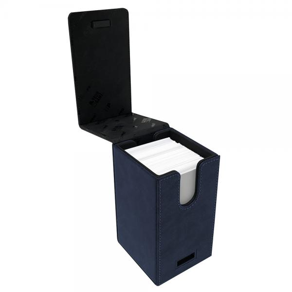 Ultra Pro: Alcove Tower Deck Box- Suede Blue/Sapphire