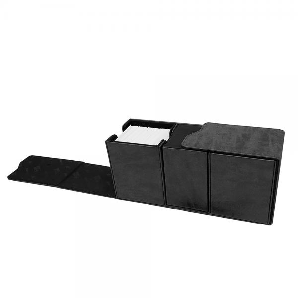 Ultra Pro: Alcove Vault Deck Box- Suede Black