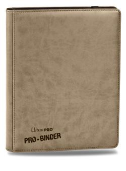 Ultra Pro Binder Pro Premium: Leatherette - White