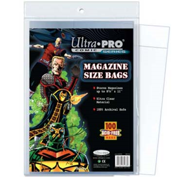 Ultra Pro: Comic Series- Magazine Size Bags