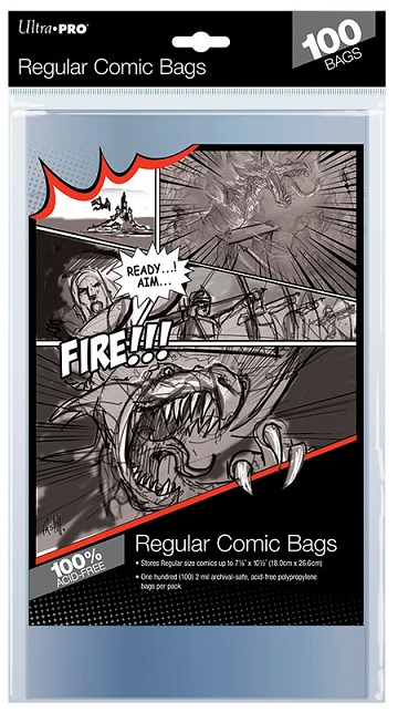 Ultra Pro: Comic Series- Regular Comic Bags