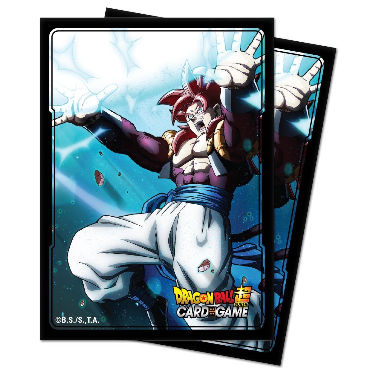 Ultra Pro: Deck Protector Sleeves (100): Dragon Ball Super- Gogeta