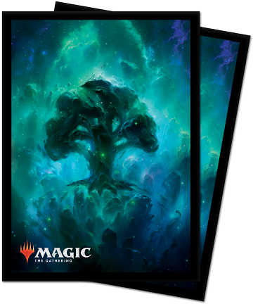 Ultra Pro: Deck Protector Sleeves (100): Magic: The Gathering: Celestial Forest