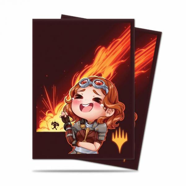 Ultra Pro Deck Protector Sleeves (100): Magic the Gathering: Chibi Collection: Chandra - LOL!