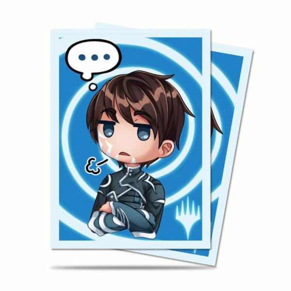 Ultra Pro Deck Protector Sleeves (100): Magic the Gathering: Chibi Collection: Jace - Sigh...