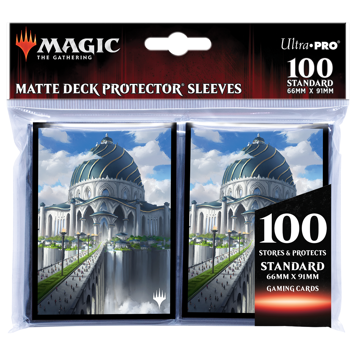 Ultra Pro Deck Protector Sleeves (100ct): Magic The Gathering: Strixhaven V6