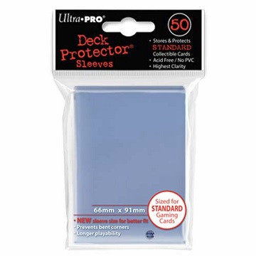 Ultra Pro: Deck Protector Sleeves (50): Clear
