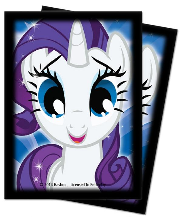 Ultra Pro: Deck Protector Sleeves (65): My Little Pony Rarity 2