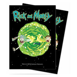 Ultra Pro: Deck Protector Sleeves (65): Rick and Morty V3