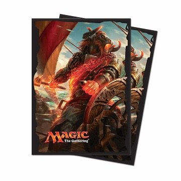 Ultra Pro Deck Protector Sleeves (80): Magic The Gathering- Rivals of Ixalan V1