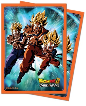Ultra Pro Deck Protectors: Dragonball Super - Version 3 (65ct)