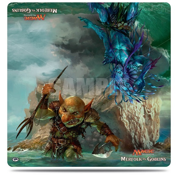 Ultra Pro: Playmat: Magic: Merfolk vs. Goblins