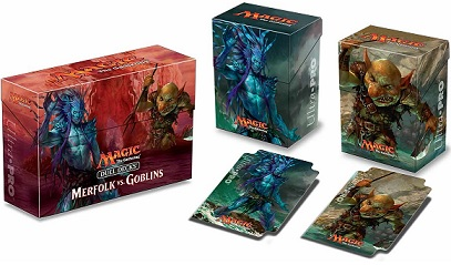 Ultra Pro: Dual Deck Box: Magic: Merfolk vs. Goblins