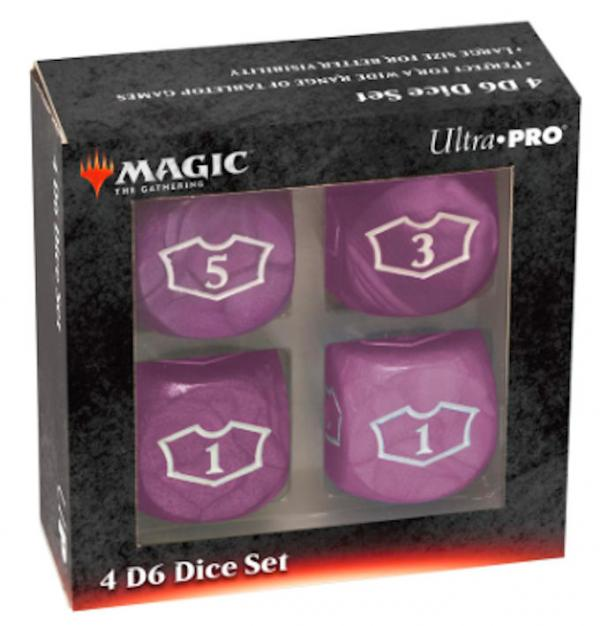 Ultra Pro: Magic the Gathering - Black Mana Loyalty Dice