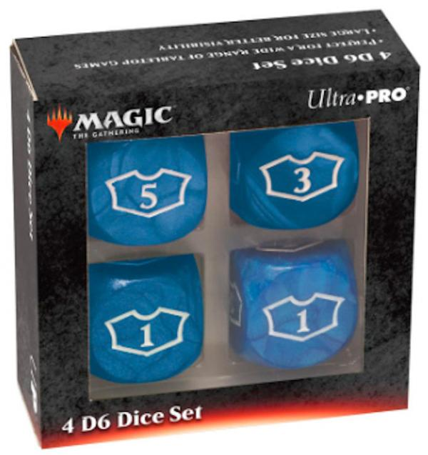 Ultra Pro: Magic the Gathering - Blue Mana Loyalty Dice