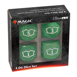 Ultra Pro: Magic the Gathering - Green Mana Loyalty Dice