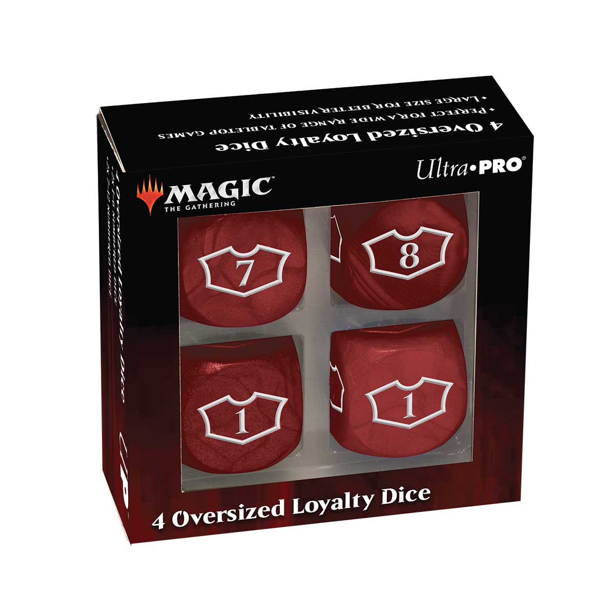 Ultra Pro: Magic the Gathering - Mountain Loyalty Dice
