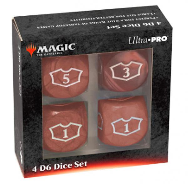 Ultra Pro: Magic the Gathering - Red Mana Loyalty Dice