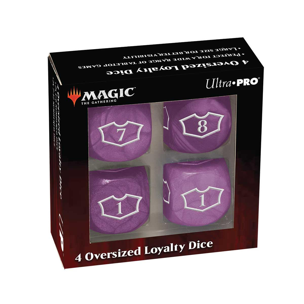 Ultra Pro: Magic the Gathering - Swamp Loyalty Dice