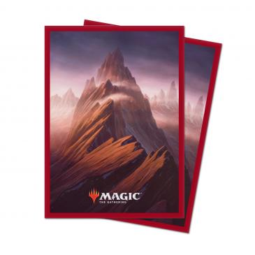 Ultra-Pro: Magic the Gathering Unstable Deck Protector Sleeves - Mountain