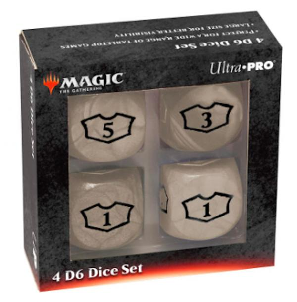 Ultra Pro: Magic the Gathering - White Mana Loyalty Dice