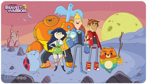 Ultra Pro: Playmat: BRAVEST WARRIORS- HEROES
