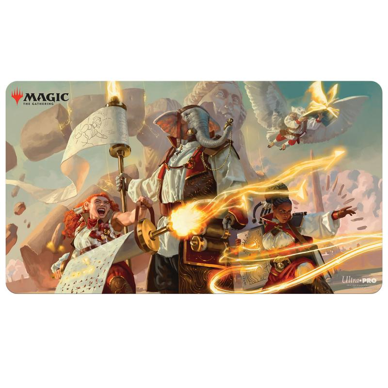 Ultra Pro Playmat: Magic The Gathering: Strixhaven V4 - Lorehold Command
