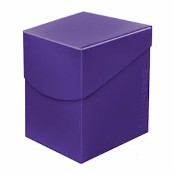 Ultra Pro: Pro Deck Box: ECLIPSE ROYAL PURPLE