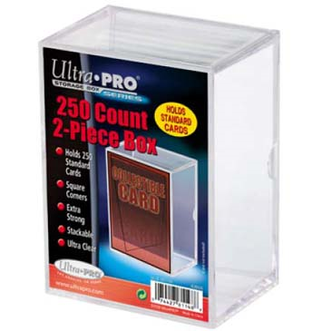 Ultra Pro: STORAGE BOX 250CT