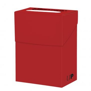 Ultra Pro: Solid Colour Deck Box: Solid Red