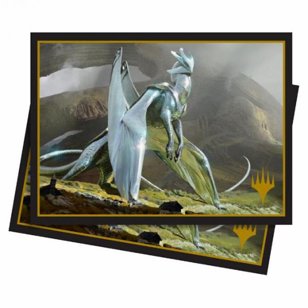 Ultra Pro Standard Deck Protector Sleeves: Magic The Gathering- Elder Dragons: Chromium, the Mutable