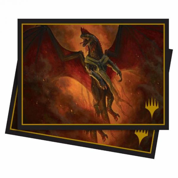 Ultra Pro Standard Deck Protector Sleeves: Magic The Gathering- Elder Dragons: Vaevictis Asmadi, the Dire