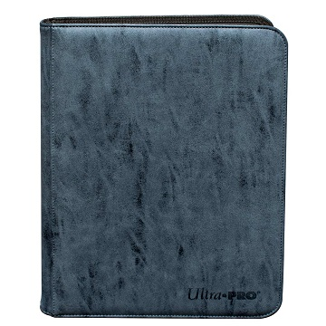 Ultra Pro: Zippered Pro-Binder Suede- Sapphire