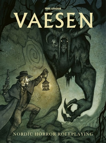VAESEN: Nordic Horror Roleplaying (HC)
