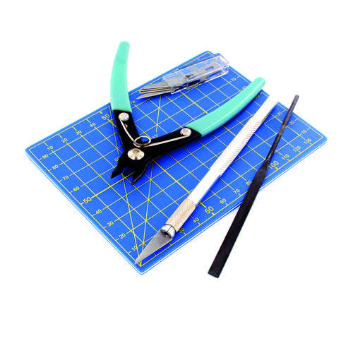 Vallejo Hobby Tools: 9pc Plastic Modelling Tool Set