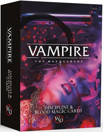 Vampire: The Masquerade 5th Edition: Discipline & Blood Magic Cards