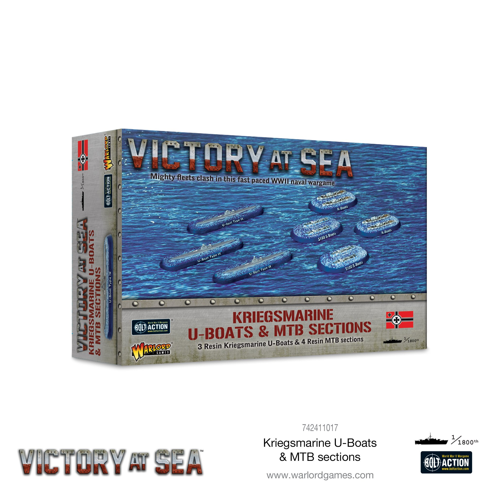Victory at Sea: Kriegsmarine U-Boats & MTB sections