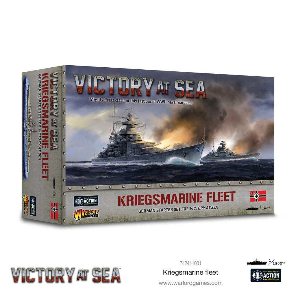 Victory at Sea: Kriegsmarine fleet