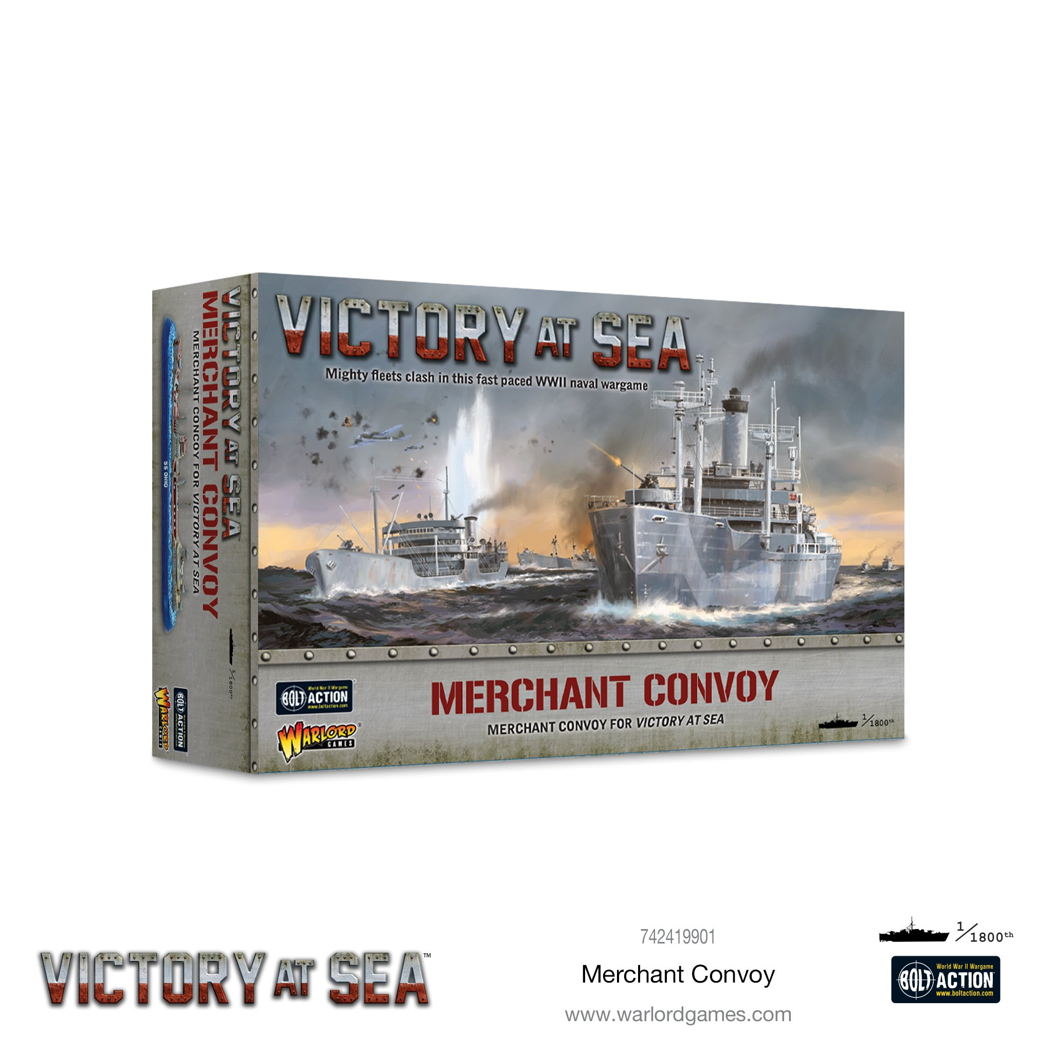Victory at Sea: Merchant Convoy