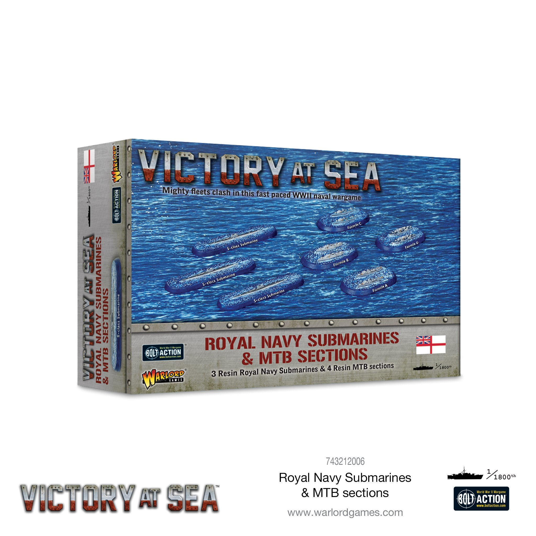 Victory at Sea: Royal Navy Submarines & MTB sections