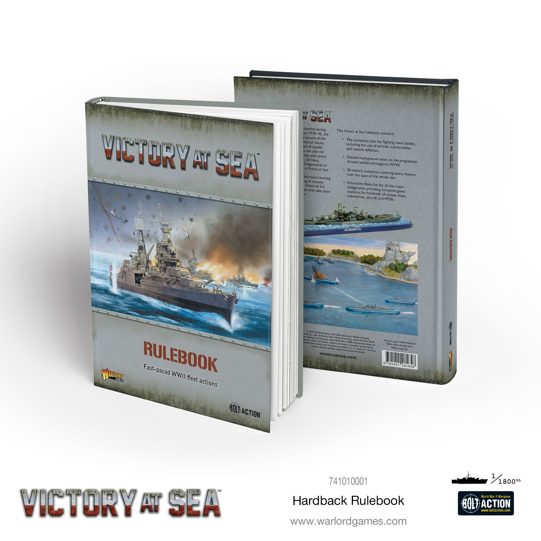 Victory at Sea: Rulebook (HC)