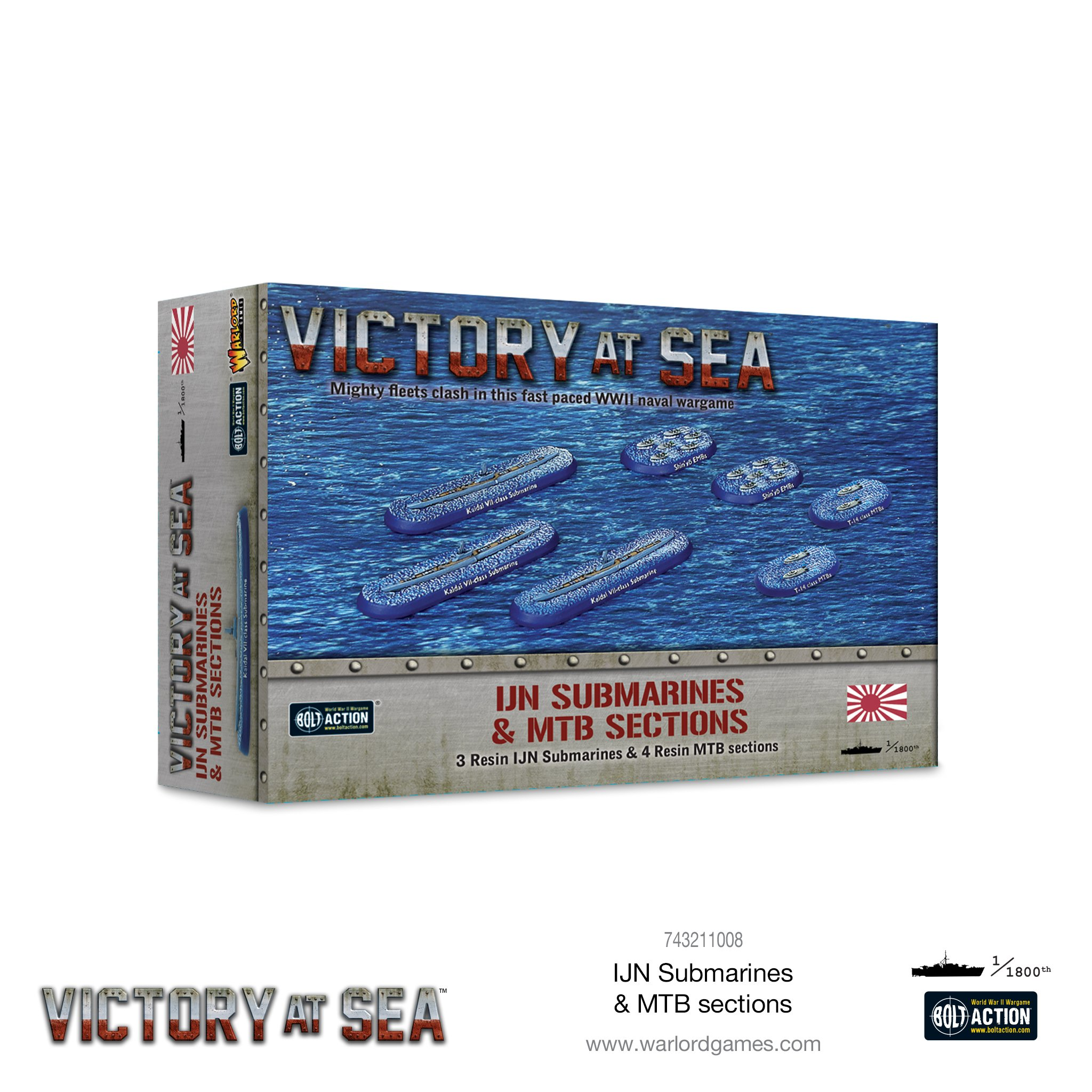 Victory at Sea: IJN Submarines & MTB sections