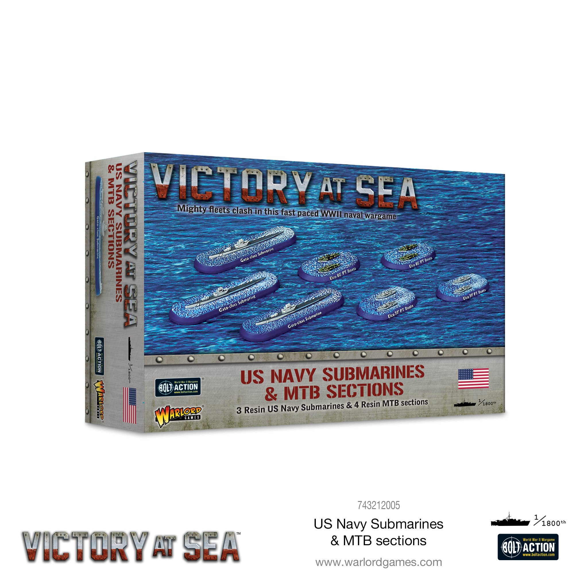 Victory at Sea: US Navy Submarines & MTB sections
