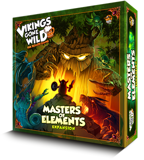 Vikings Gone Wild: Masters of Elements [WATER DAMAGED]