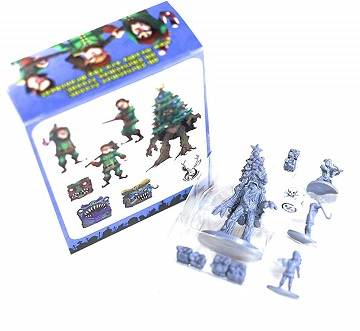 WAR IN CHRISTMAS VILLAGE: Oh Christmas Treent