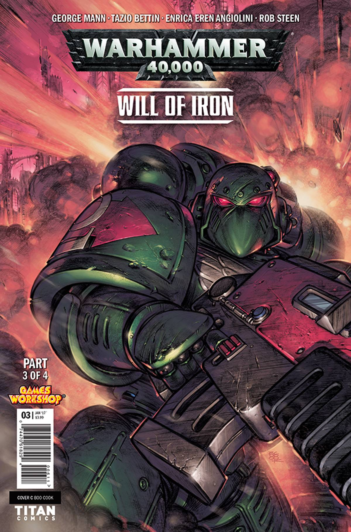 WARHAMMER 40,000 WILL OF IRON #3: Variant Cover 2