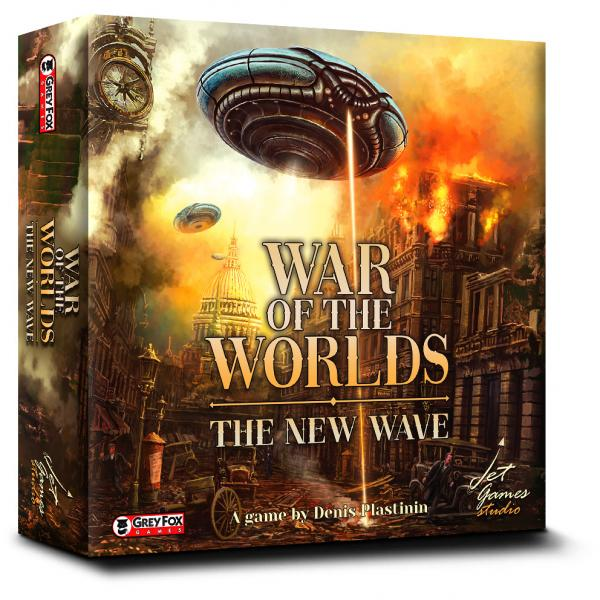 War of the Worlds: The New Wave [WATER DAMAGED]