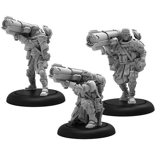 Warcaster: Marcher Worlds-(PIP82008) Ranger Heavy Support – Squad (3)