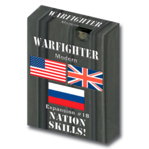 Warfighter Modern #018: Combo Soldiers with Nation Skills