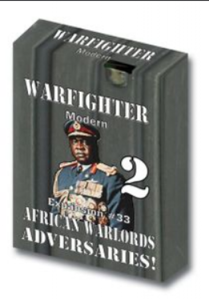 Warfighter Modern 033: African Warlords Adversaries! 2